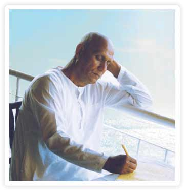 Sri Chinmoy writing1